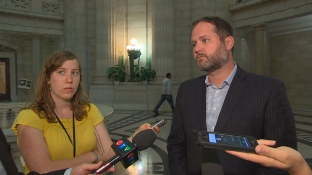 NDP Health Critic Matt Wiebe