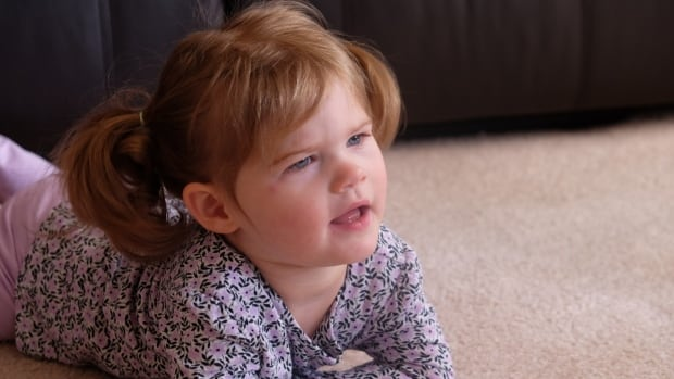 Willow, who is nearly two-years-old, was diagnosed last week with a rare genetic disorder called NGLY1.