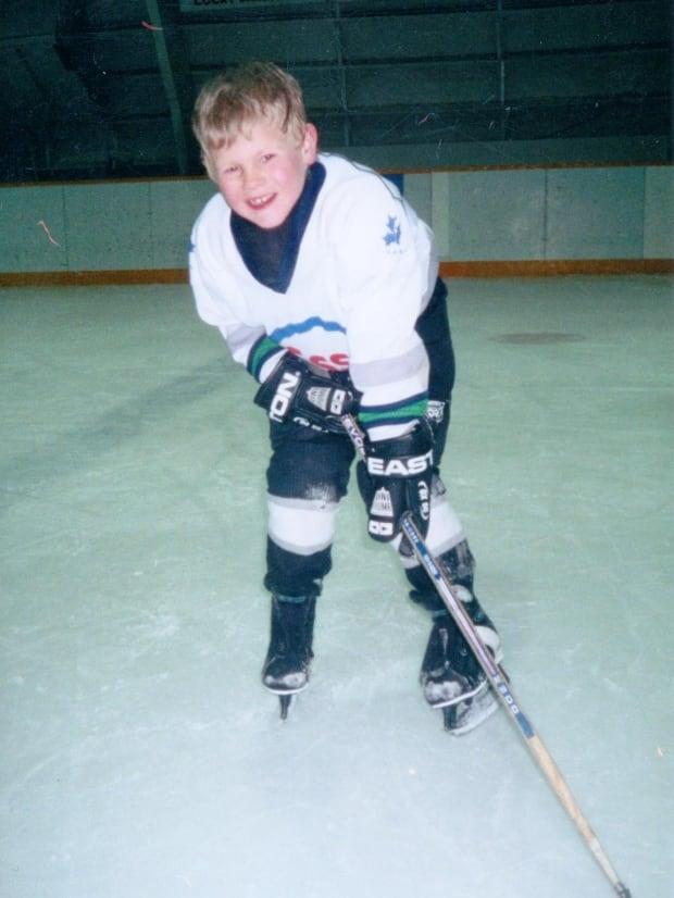 Carter Jansen hockey pic