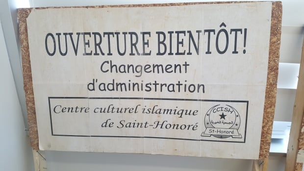 saint honore xenophobic sign