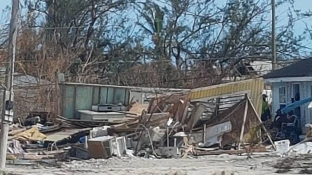Kim Griffin, spokesperson for Maritime Electric, says many houses have been destroyed by hurricane Irma.