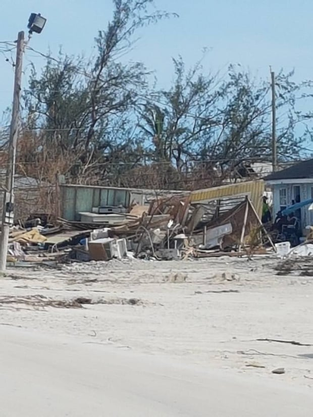 Irma in Turks and Caicos