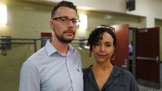 Robert Bellemare and Kristina Small Vanier residents Sept 13, 2017