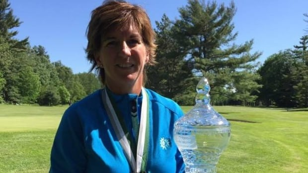 Judith Kyrinis, above, will face Terrill Samuel in the first all-Canadian final at the U.S. Senior Women's Amateur Championship.