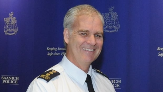 Police chief Bob Downie is a 35-year veteran of the Saanich Police Department.