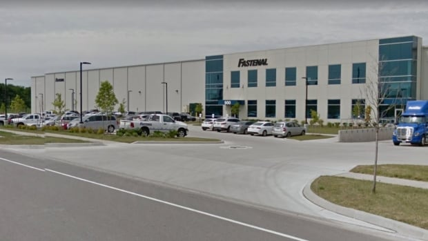 Fastenal, located on Wabanaki Drive in Kitchener, distributes construction and manufacturing products. It's name will be added to the Environmental Offenders Registry.