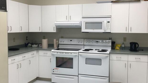 Chaplaincy centre kitchen, UPEI