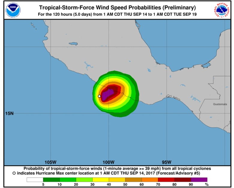Hurricane Max forms in Pacific, Acapulco may feel impact   CBC News