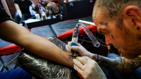 Britain Manchester Tattoo