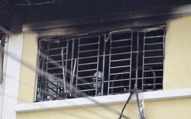 APTOPIX Malaysia Fire