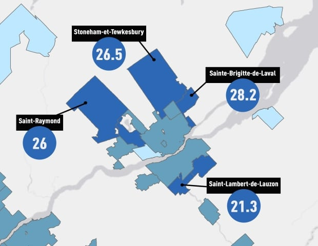 Quebec City area income growth census 2015