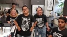The Coffee Shed team