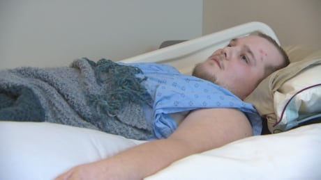 'It feels like your bones are being crushed': Former football player battles chronic pain