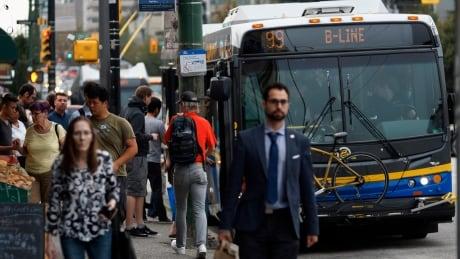 Translink 99 B-line bus