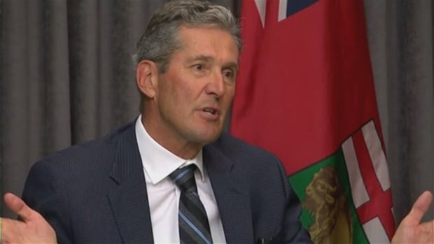 Premier Brian Pallister's rating is sliding but he remains popular, an Angus Reid poll suggests.