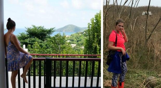 Olga Osadchaya - Irma Before and After