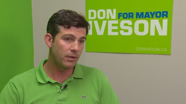 Edmonton Mayor Don Iveson is running for re-election in this fall's municipal election.