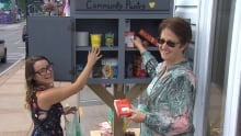 Sarah Norman, St. George and Area Food Bank, and Laurie Parris, Multicultural Association of Charlot