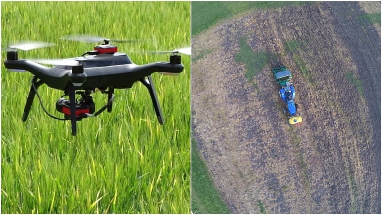 Drones, tractor hacks and robotic sprayers: the technology