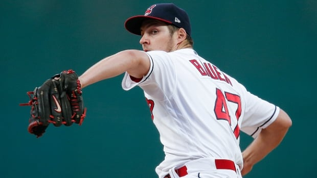 Trevor Bauer allowed four runs as the Cleveland Indians' win streak ended after 22 games.