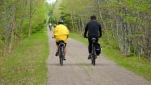 Bicycles for use on trails
