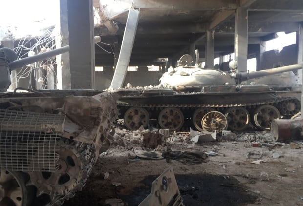 Syria tank factory Russia