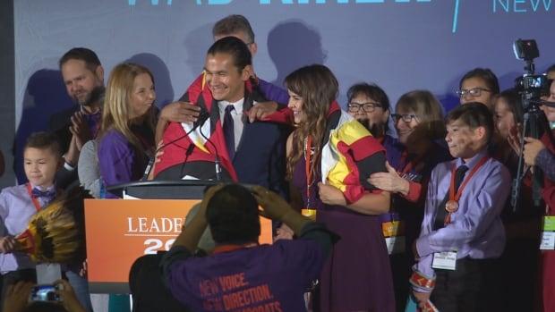 Wab Kinew wins NDP