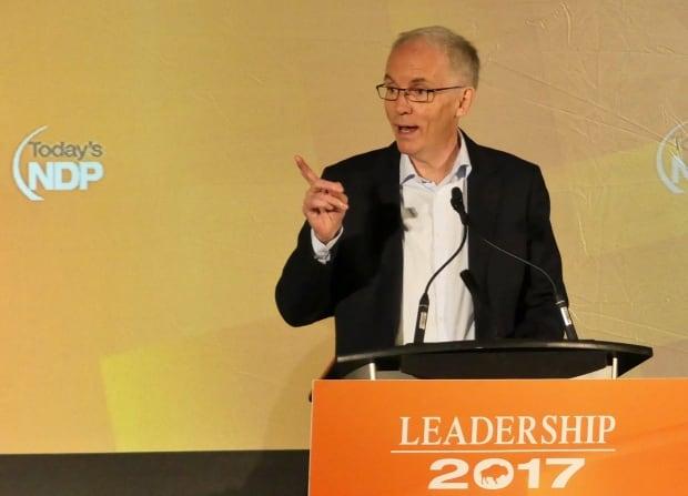 NDP leadership candidate Steve Ashton