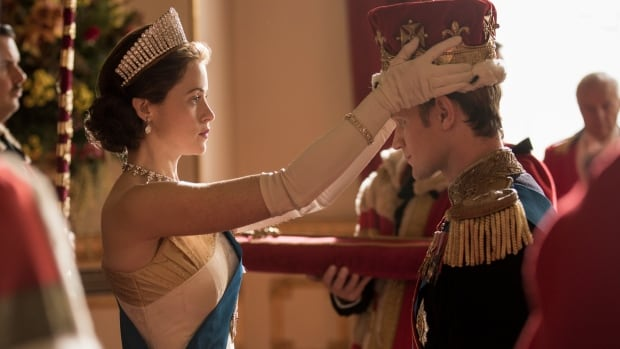 Claire Foy (as Queen Elizabeth II) and Matt Smith (as Prince Philip) return in The Crown, which premieres its second season on Dec. 8.
