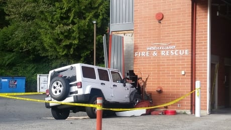 Jeep Cherokee West Vancouver fire hall