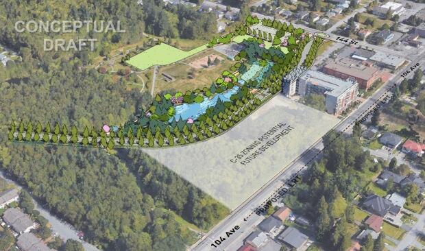 Hawthorne Park road rendering