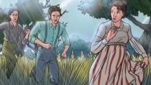 Susanna Moodie Roughing It In The Bush Graphic Novel Cover