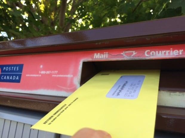 St. John's municipal election 2017 ballot going in mail
