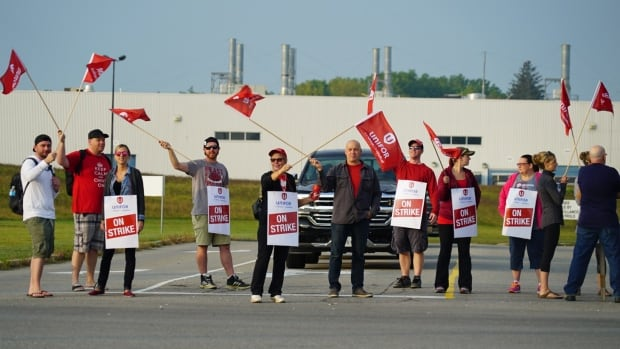 Blame Canada: Strike slows down GM powertrain production