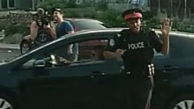 Fake dancing cop