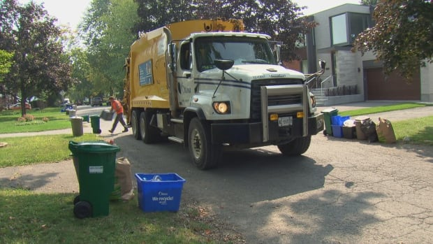 Ottawa's in-house waste collection group is in charge of garbage and recycling operations for the city's central and eastern zones.