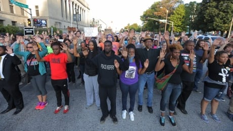 Police Shooting St Louis protest