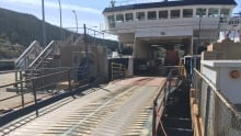 Bell Island Ferry passengers refused to exit vehicles
