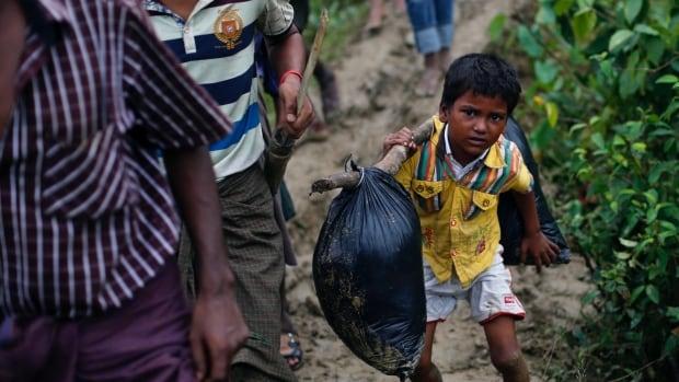 Aung San Suu Kyi refuses to condemn military's persecution of Rohingya