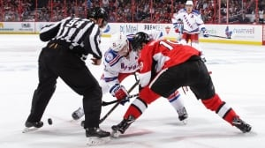 New focus on old faceoff rule has NHL fans fuming