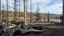 Pressy Lake homes demolished by wildfire
