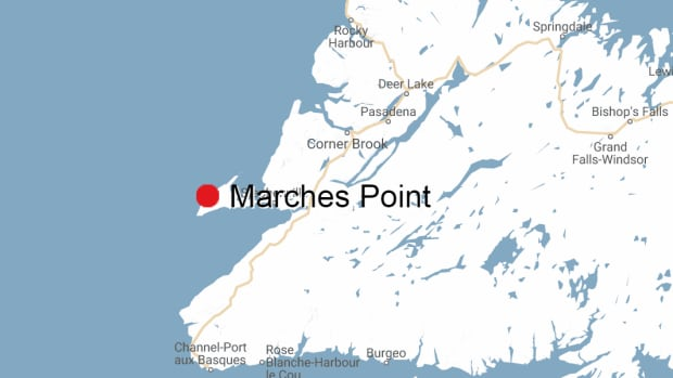 Bay St. George RCMP were called to a single vehicle crash near Marches Point, on Newfoundland's Port au Port Peninsula early Tuesday morning. A 28-year-old man died after he was ejected from the vehicle