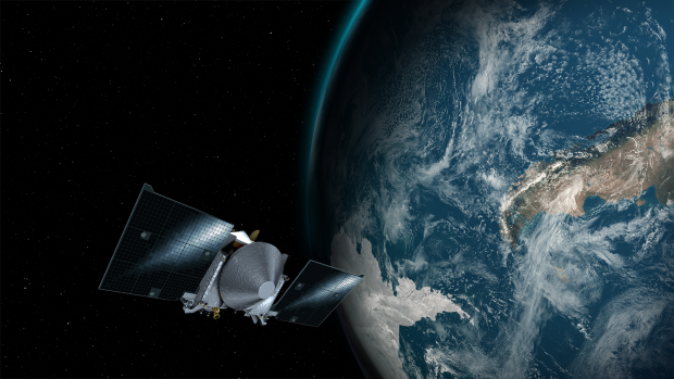 Follow asteroid-bound Osiris-Rex slingshotting around Earth