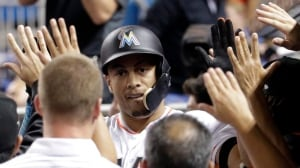 Stanton needs one last surge to match Maris's 61 homers