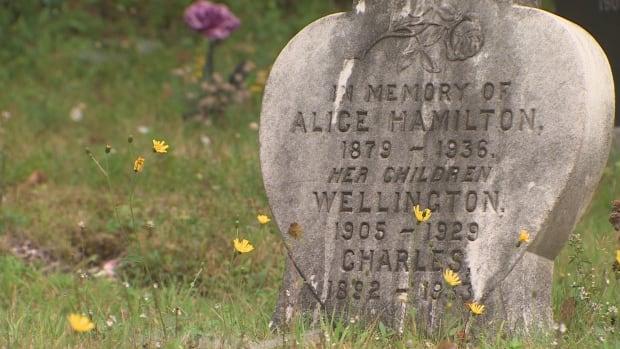 Gravesite in Beechville United Baptist Church Cemetery