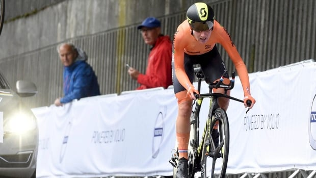 Dutch cyclist Annemiek van Vleuten won a world road time travel just over a year after a horrific crash during the Rio Olympics.