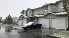 Edmonton snow