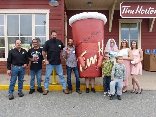 Tim Hortons wedding5
