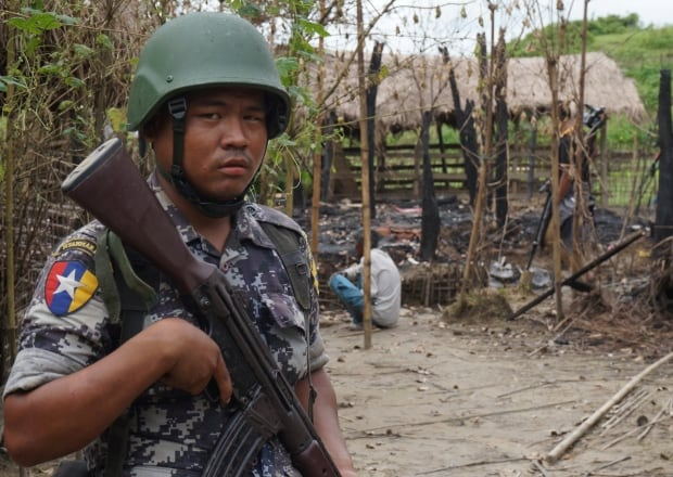 MYANMAR ROHINGYA border guard