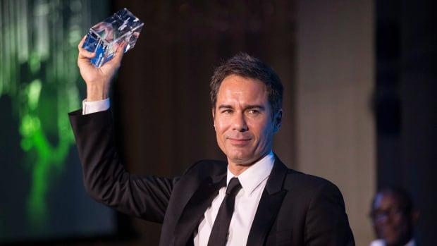 Actor Eric McCormack received the Stratford Festival Legacy Award during a reception in Toronto on Monday.